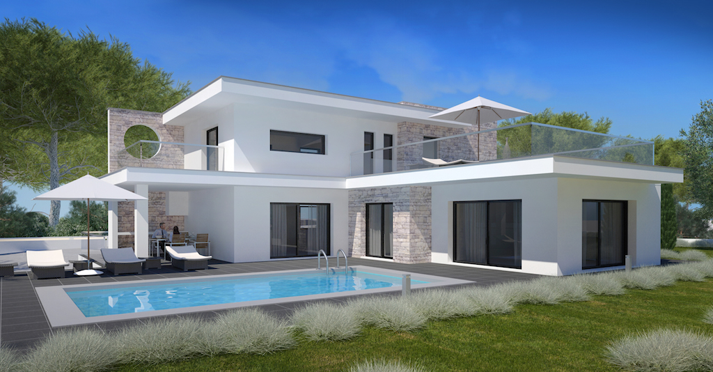 achat maison contemporaine portugal ventana blog. Black Bedroom Furniture Sets. Home Design Ideas